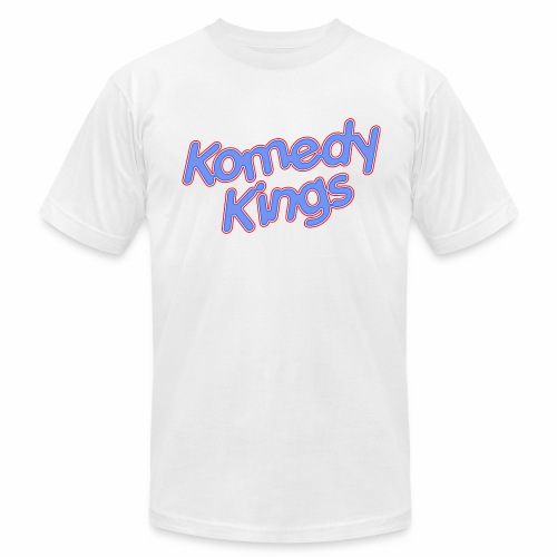 KomedyKings Brand Name Tee - Men's Fine Jersey T-Shirt