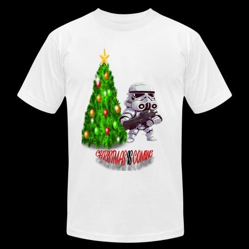 StarWars #ChristmasIsComing - Men's Fine Jersey T-Shirt