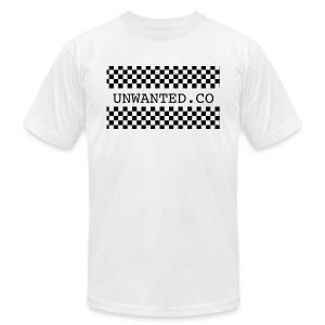 checkered unwanted - Men's Fine Jersey T-Shirt