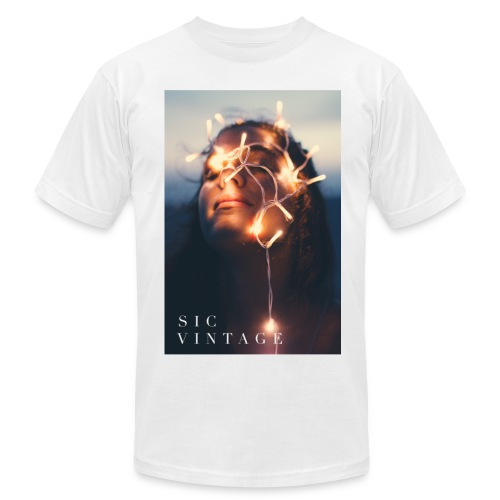 SicVintage Beauty in the Lignts - Men's Fine Jersey T-Shirt
