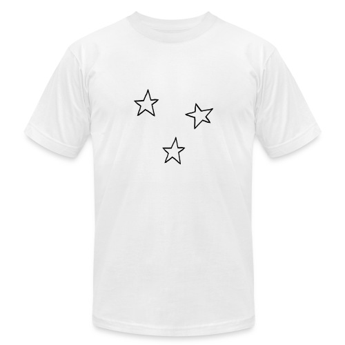 Three Stars - Men's Fine Jersey T-Shirt