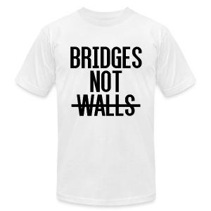 Bridges not Walls - Men's Fine Jersey T-Shirt