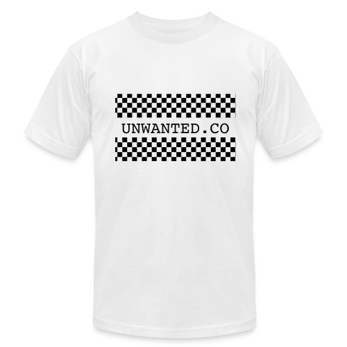 checkered unwanted - Men's  Jersey T-Shirt