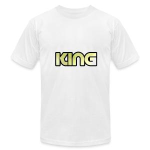 KING ***NEW DESIGN*** - Men's Fine Jersey T-Shirt