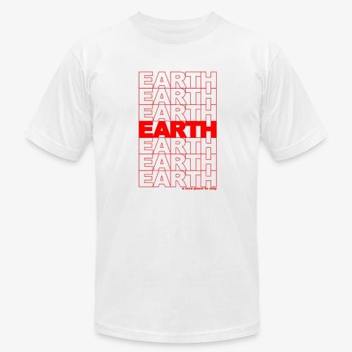 earth - take out - Men's Fine Jersey T-Shirt