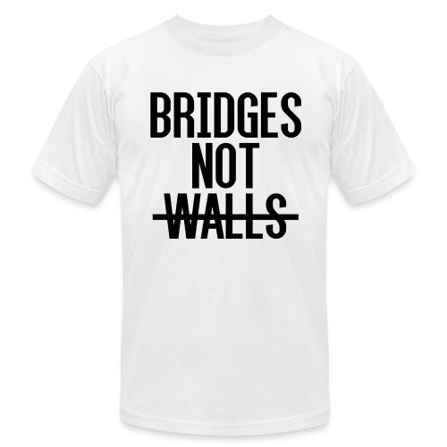 Bridges not Walls - Men's  Jersey T-Shirt