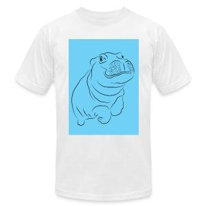 Blue Hippo - Men's Fine Jersey T-Shirt