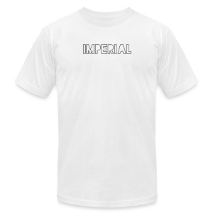 Plain Imperial Logo - Men's Fine Jersey T-Shirt