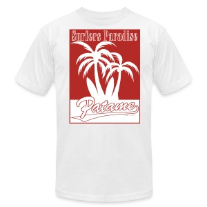 Patame Surfers Paradise Red - Men's Fine Jersey T-Shirt