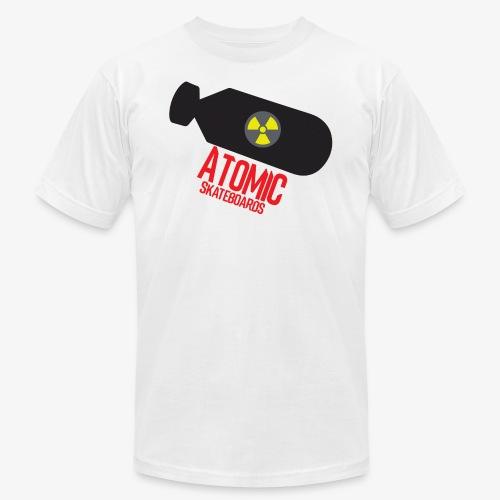Atomic Skateboard OG Bomb - Men's Fine Jersey T-Shirt