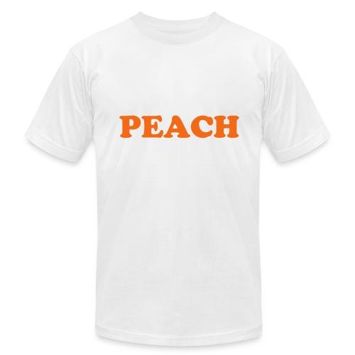 Peach Fruitee - Men's Fine Jersey T-Shirt