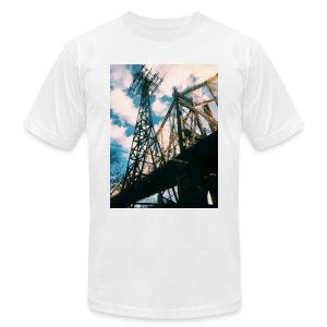 Ed Koch bridge - Men's Fine Jersey T-Shirt