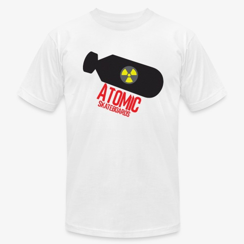 Atomic Skateboard OG Bomb - Men's Fine Jersey T-Shirt