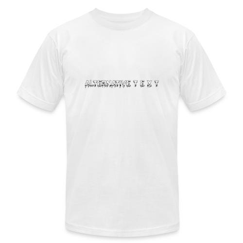A T - THE CHUBBY DESIGN   Alternative Text co. - Men's Fine Jersey T-Shirt
