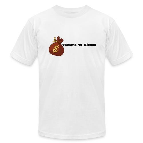 Dreams to Riches Money Bag$ - Men's Fine Jersey T-Shirt