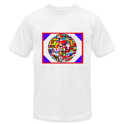 THE VIRAL NETWORK - Men's Fine Jersey T-Shirt