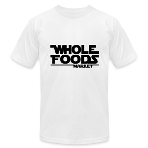 WHOLE_FOODS_STAR_WARS - Men's T-Shirt by American Apparel