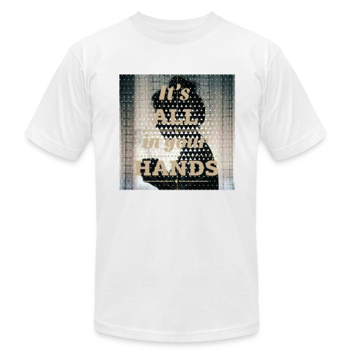 All in you hands - Men's Fine Jersey T-Shirt