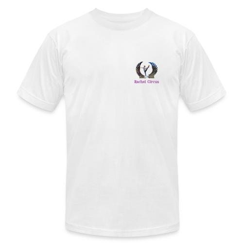 Rachel Circus Pose Logo - Men's Fine Jersey T-Shirt
