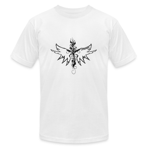 peace.love.good karma - Men's  Jersey T-Shirt