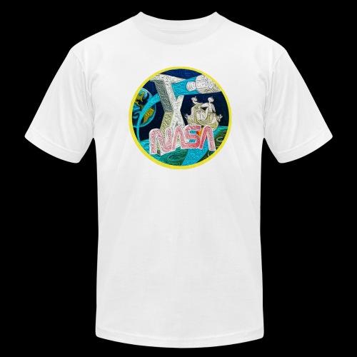 Apollo NASA T-Shirt - Men's Fine Jersey T-Shirt