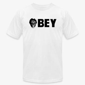 Alien OBEY Custom concept. - Men's Fine Jersey T-Shirt