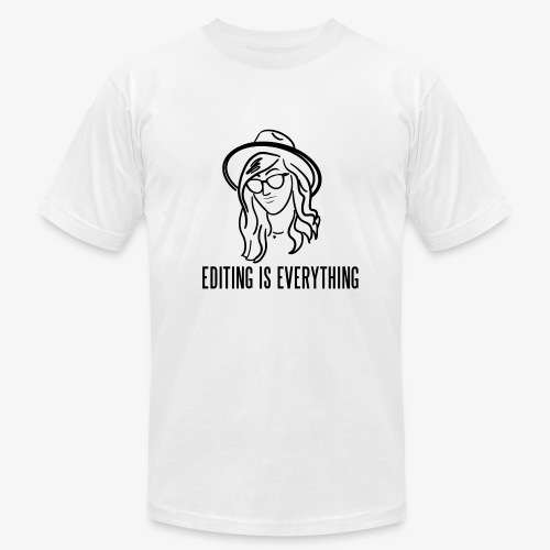 Editing Is Everything NEW LOGO - Men's Fine Jersey T-Shirt