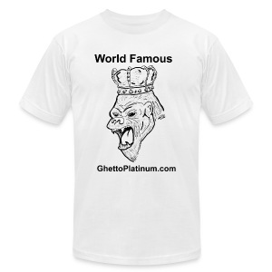 T-shirt-worldfamousForilla2tight - Men's T-Shirt by American Apparel