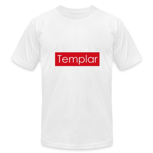 Red bar Templar - Men's Fine Jersey T-Shirt