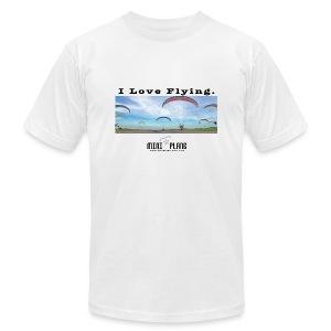 i love flying1 - Men's Fine Jersey T-Shirt