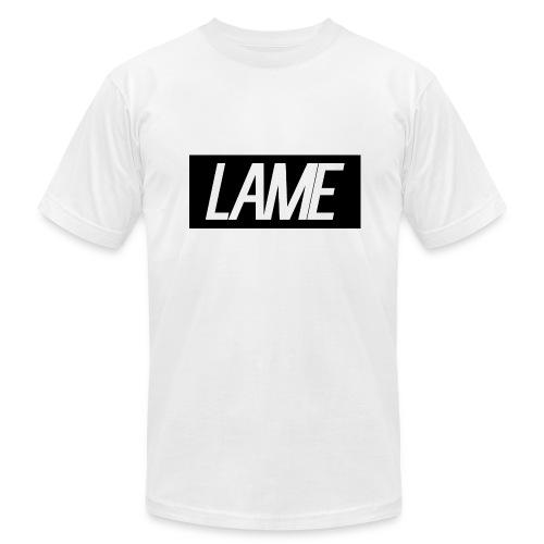 lame/black rectangle - Men's Fine Jersey T-Shirt