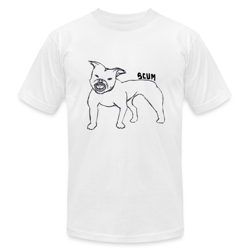 Scum Pitbull - Men's Fine Jersey T-Shirt