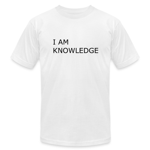 KNOW - Men's Fine Jersey T-Shirt