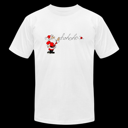 Santa Ho Ho Ho - Men's Fine Jersey T-Shirt