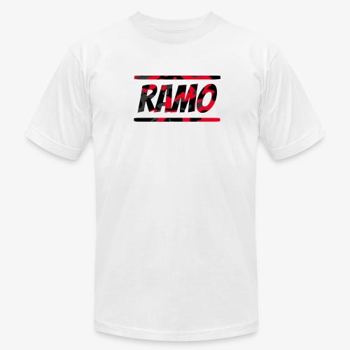 Ramo Red Camo - Men's Fine Jersey T-Shirt