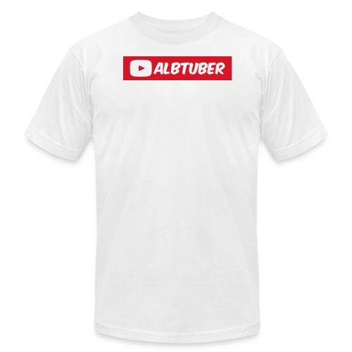 AlbTuber Logo - Men's Fine Jersey T-Shirt