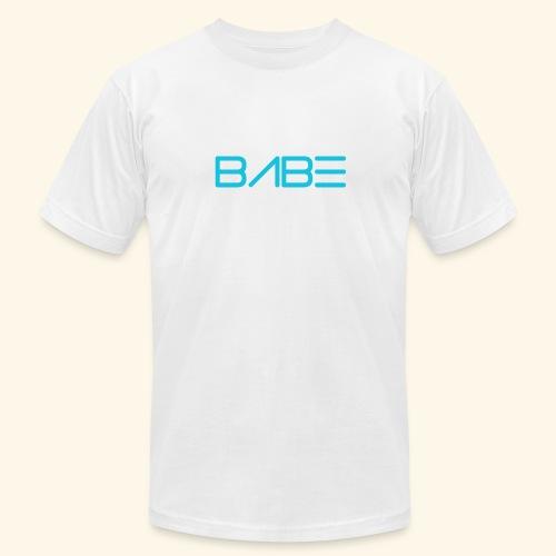 White BABE T-Shirt - Men's Fine Jersey T-Shirt