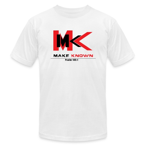 MAKE KNOWN APPAREL - Men's Fine Jersey T-Shirt