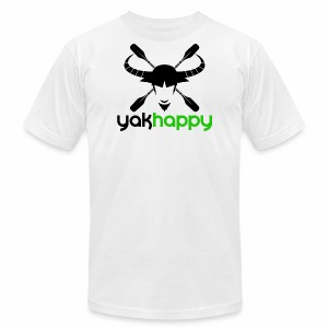 Yakhappy Logo - Men's T-Shirt by American Apparel