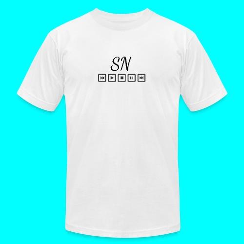 The Samantha Navio play button T-shirt - Men's Fine Jersey T-Shirt