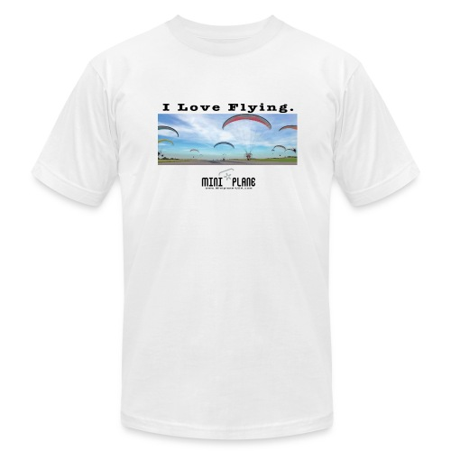 i love flying1 - Men's Fine Jersey T-Shirt