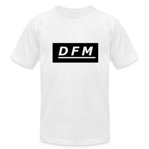 D.F.M Logo Merch - Men's Fine Jersey T-Shirt