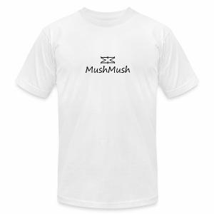 Logo On Light - Men's Fine Jersey T-Shirt