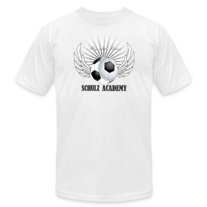 Play with Passion Schulz Academy - Men's T-Shirt by American Apparel