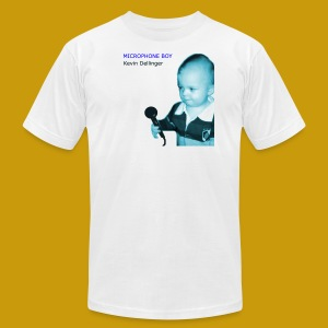 Kevin Dellinger - Microphone Boy - Men's T-Shirt by American Apparel