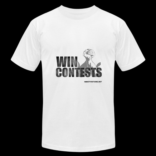 WIN CONTESTS - Men's  Jersey T-Shirt