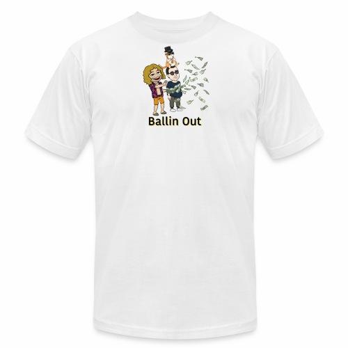 BALLIN OUT - Men's Fine Jersey T-Shirt