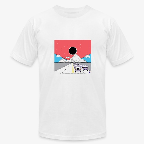 Solar Eclipse - Men's  Jersey T-Shirt