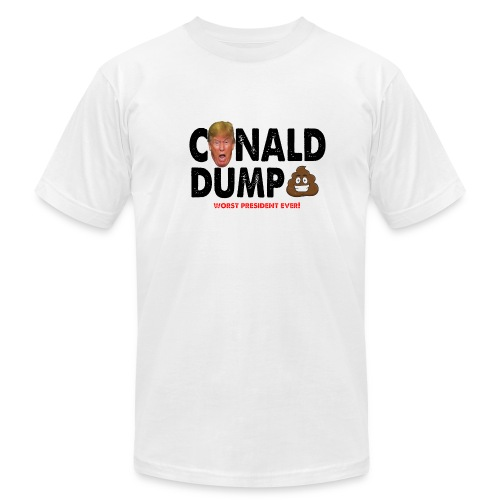 Conald Dump Worst President Ever - Men's Fine Jersey T-Shirt