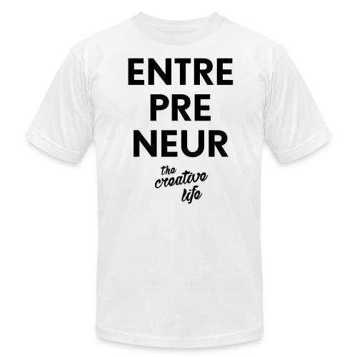 The Entrepreneur Tee White - Men's Fine Jersey T-Shirt